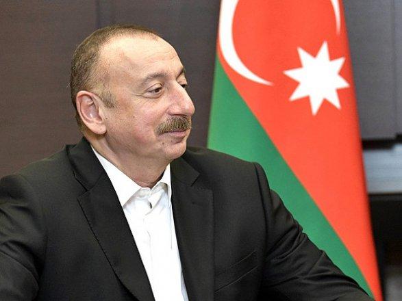Переговоры Ильхама Алиева с главой турецкого парламента