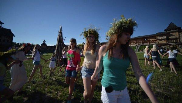 День дружбы и единения славян отмечается в воскресенье