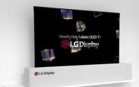 В США представили телевизор, который можно свернуть в рулон