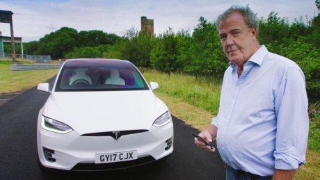 Tesla Model X: легендарный Джереми Кларксон испытал электромобиль Маска (ВИДЕО)
