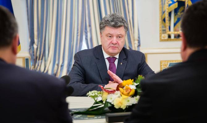 В СНБО засекретили ставку президента как главнокомандующего