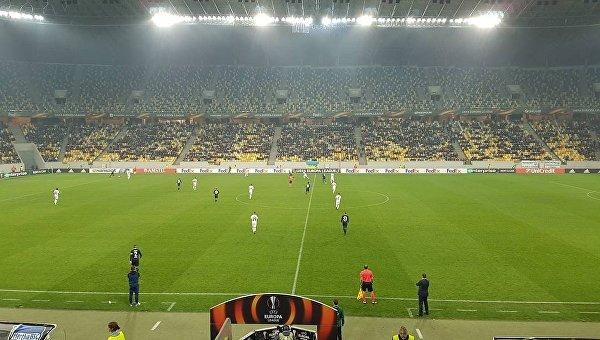 Заря выиграла матч 3-го тура группового этапа Лиги Европы