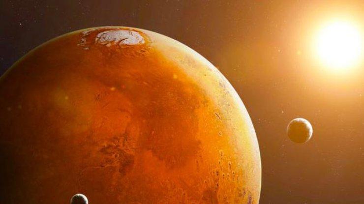 На Марсе обнаружили большие залежи воды