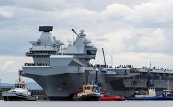 Британія посилить охорону авіаносця після посадки дрона на його палубу
