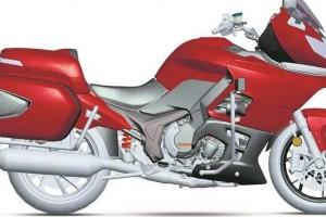 Китайцы готовят большой туристический мотоцикл QJiang
