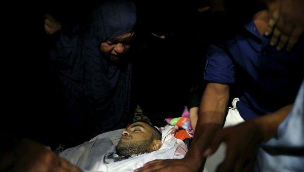 Авиаудар по сектору Газа: погибли палестинцы, ехавшие на мотоцикле