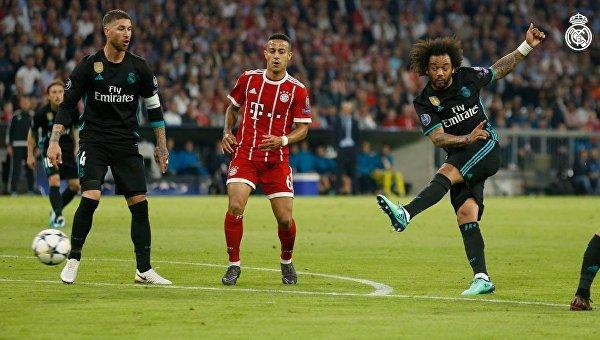 Реал на выезде победил Баварию в первом матче полуфинала ЛЧ