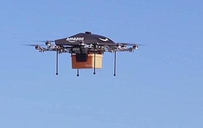 Amazon запатентувала багаторівневі парковки для дронів