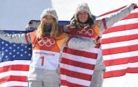 17-летняя американка стала лучшей в сноуборде на Олимпиаде-2018