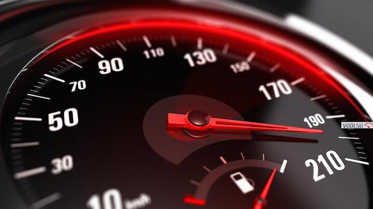 В Украине могут увеличить штрафы за превышение скорости