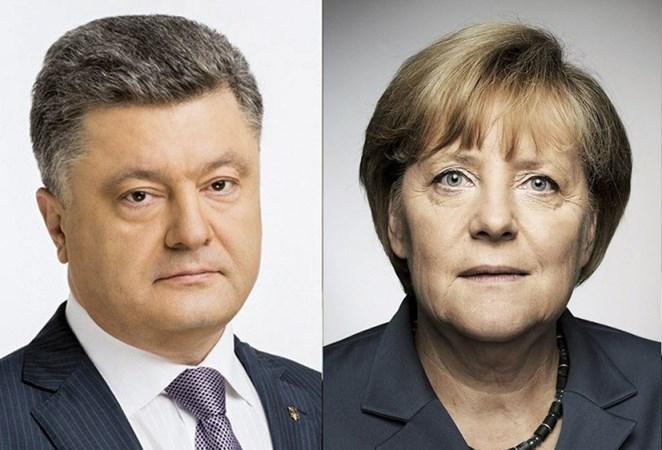 Меркель розповіла Порошенку про зустріч із Путіним