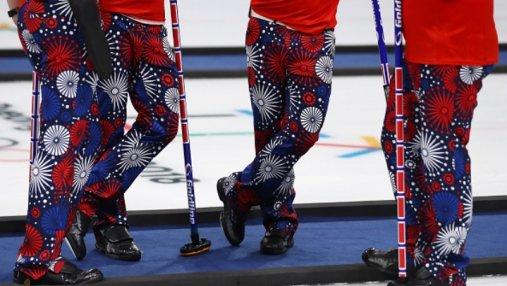 На стиле: норвежские керлингисты поражают модой на Олимпиаде-2018 – яркая подборка