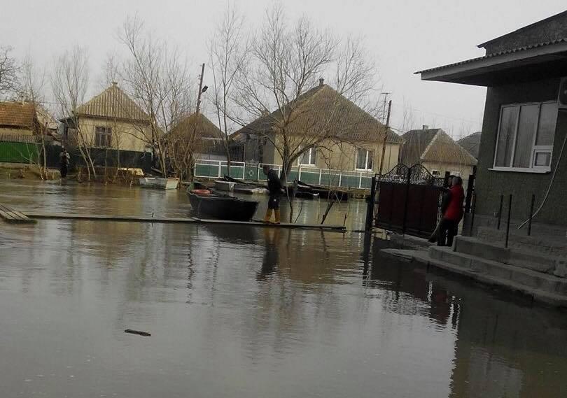 В Запорожской области после ливня подтоплены около 100 домовладений