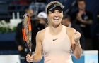 Свитолина выиграла турнир в Дубае