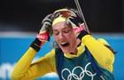 Биатлон: Шведка Оэберг сенсационно стала олимпийской чемпионкой