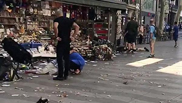 Во время теракта в Барселоне пропал ребенок из Британии