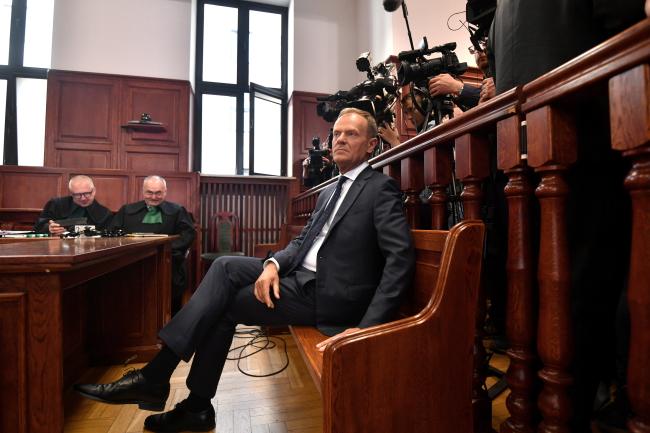 Д.Туск: Я не розмовляв з Путіном про річницю в Катині