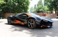 Первый украинский суперкар Himera Q замечен в Латвии