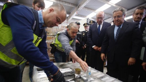Контрабандисты спрятали рекордную для Европы партию кокаина среди бананов: детали от полиции