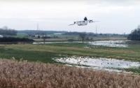 Немцы смастерили летающую ванну (видео)