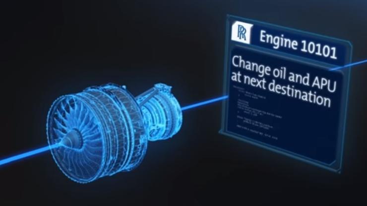 Rolls-Royce анонсировала разработку умных двигателей (видео)