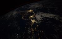 Астронавт NASA опубликовал снимок ночной Японии из космоса
