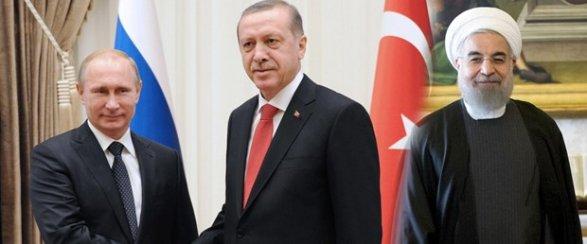 Путин: Россия, Турция и Иран не допустили распада Сирии обновлено