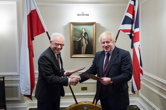 Polish-British security, defence talks
