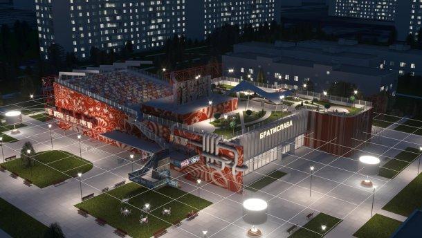 Нове життя Братислави: як перетворити занедбану будівлю у корисний центр