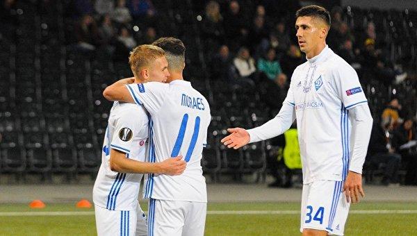 Жеребьевка определила соперника Динамо в плей-офф Лиги Европы
