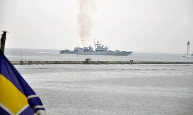 Украина усилит военное присутствие в Азовском море