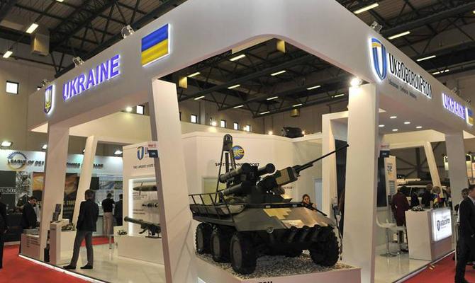 Украина продала военную продукцию на $120 млн