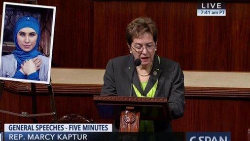 Убитой Амине Окуевой посвятили речь в Конгрессе США