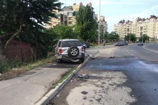 В Одессе водитель врезался в семь автомобилей