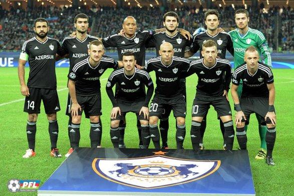 «Карабах» против «Атлетико» Матч начался
