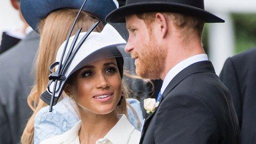 Меган Маркл пренебрегла королевскими правилам ради роскошного платья: фотофакт