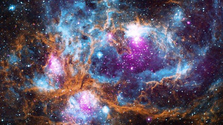 В NASA показали столкновение нейтронных звезд