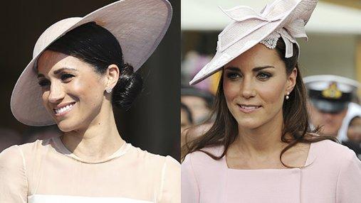 Образ Меган Маркл в Букингемском дворце сравнили Кейт Миддлтон: детали
