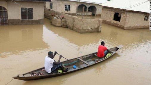 Смертельные наводнения в Нигерии: в стране объявили национальную катастрофу