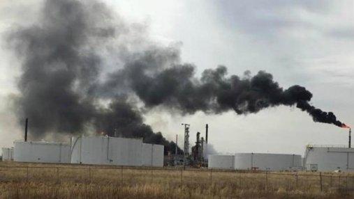 В США взорвался нефтеперерабатывающий завод: 20 пострадавших