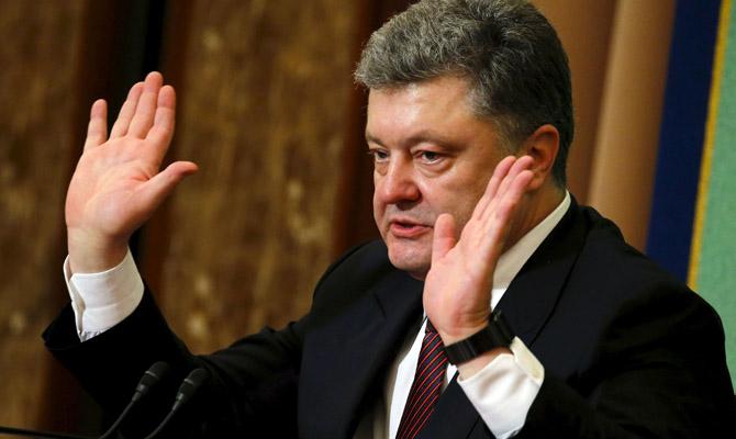 НАПК проверило все е-декларации Порошенко за 2015-2016 годы