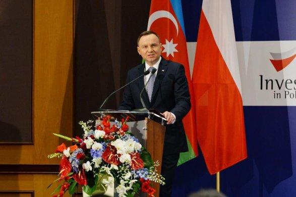 Анджей Дуда: «Азербайджан является важным партнером Польши»