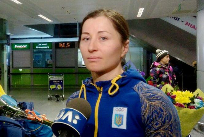 Украинская сборная по биатлону вернулась с Олимпиады