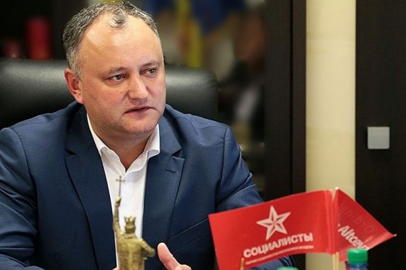 Додон решил сделать Молдавию президентской республикой