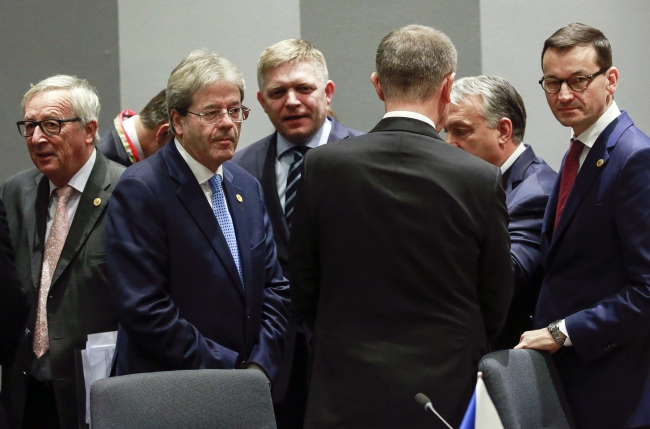 Вышеградская группа передаст 35 млн евро на помощь беженцам