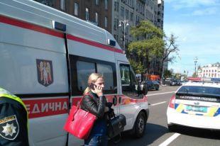 ДТП в Киеве: женщина перебегала восемь полос Крещатика и попала под колеса