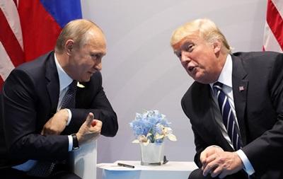 Путін подякував Трампу за дані про терористів