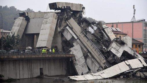Обвал моста в Генуе: три вероятных причины трагедии