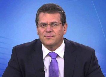 Марош Шефчович доповість Європарламенту про постачання російського газу до України, зустрінеться з главою Нафтогазу