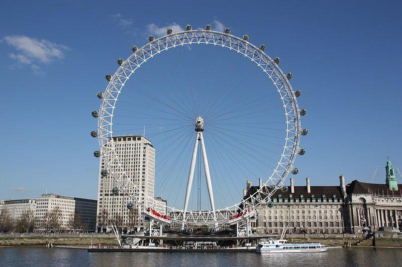 Туристов с Лондонского глаза эвакуировали из-за неразорвавшегося снаряда